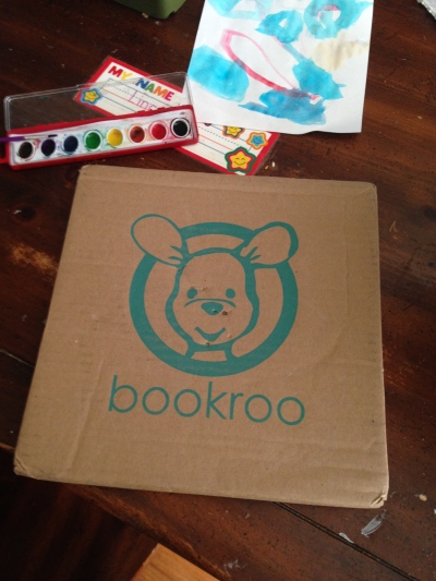 bookroo package with logo