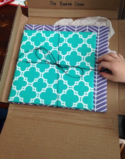 bookroo wrapped package
