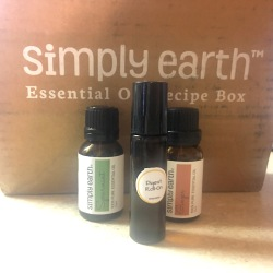 essential oils and roll-on blend